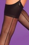 Silky Seamer Stockings XL