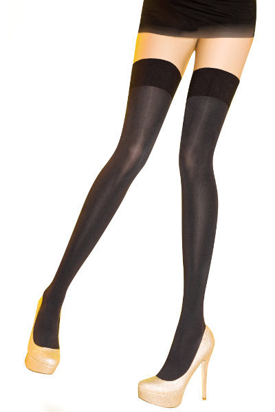 Pretty Polly Smooth Hold ups Selvsiddende - Stay-up Efterår & vinter / Strumpbyxor.com