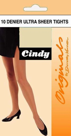 Cindy Ultra Sheer Tights Strømpebukser Under kr.50 Sommerstrømper / Strumpbyxor.com