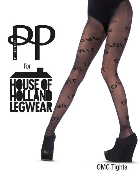 Pretty Polly House of Holland OMG Strømpebukser Mode & design / Strumpbyxor.com